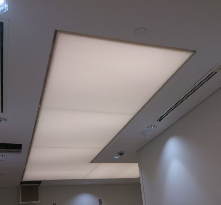 Translucent Stretch Ceiling Systems Dubai Greenacustica